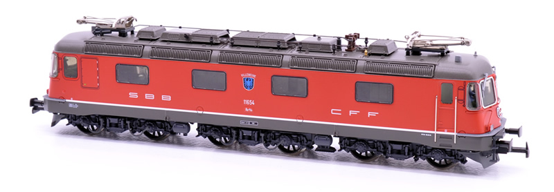 HAG 20 059-22 SBB Re 6/6 11654 Villeneuve DC Sound